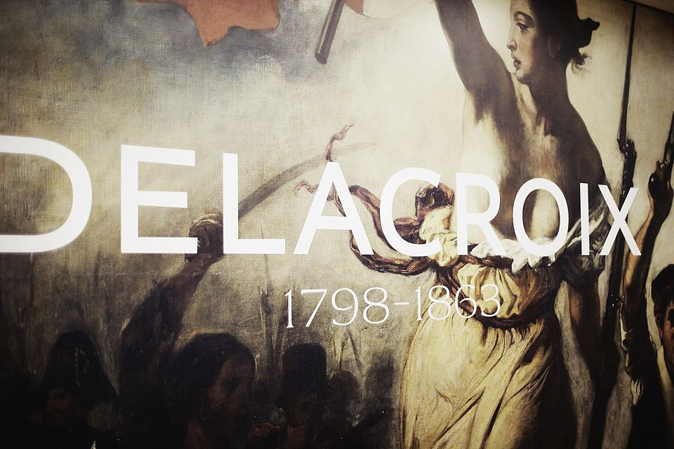 [Translate to English:] Delacroix Ausstellung